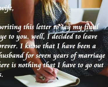 Reply Letter To My Ex-Husband Who Is Eloping With My Sister