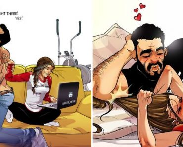 Artist Illustrated Everyday Life With His Wife In Comics And We're Not Jealous At All