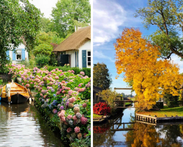 This Village With Canals, Looks Like A One In A  Fairy Tale Book