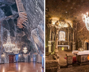 This Salt Mine In Poland With Underground Lakes, Chapels, And Chandeliers Made Of Salt Looks Unreal