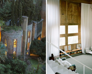 Architect Turned Old Cement Factory Into His Home