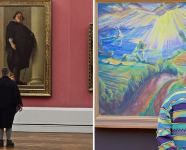 Photographer Matched The Museum Visitors To Artworks