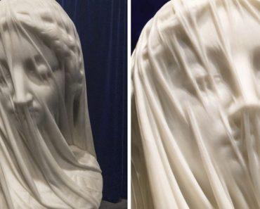 The Veiled Virgin: Carrara Marble Sculpture In The World Of Art