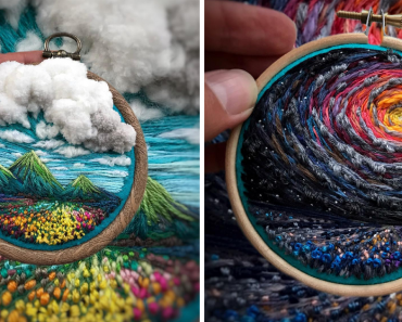 Artist Pushes Embroidery To Its Limits, Making It Looks Like Paint